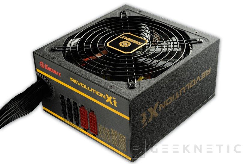 Nuevas fuentes de alimentación Enermax Revolution X'T II 80 PLUS Gold, Imagen 1