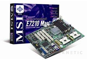 Cuatro nuevas placas base de MSI, Imagen 2
