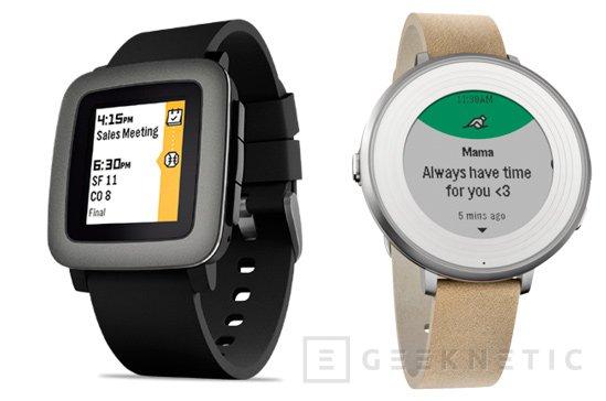 Pebble rebaja sus smartwatches Pebble Time y Time Round, Imagen 1