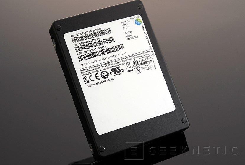 Llegan los SSD Samsung PM1633a para el mercado profesional con 15 TB de capacidad, Imagen 1