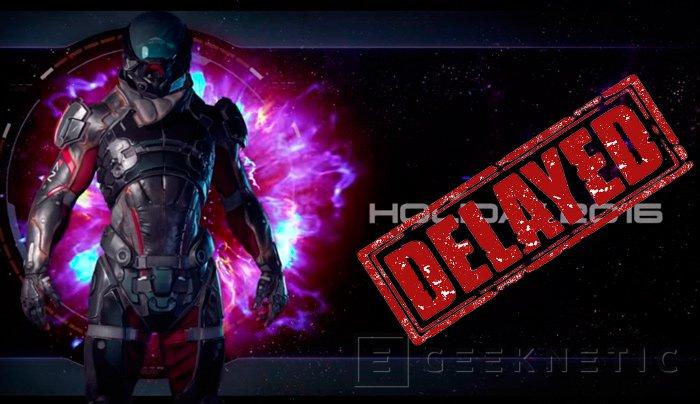 El nuevo Mass Effect: Andromeda se retrasa hasta el 2017, Imagen 1