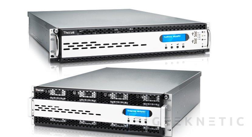 Thecus N12850 y N16850, nuevos NAS en formato rack para profesionales, Imagen 1