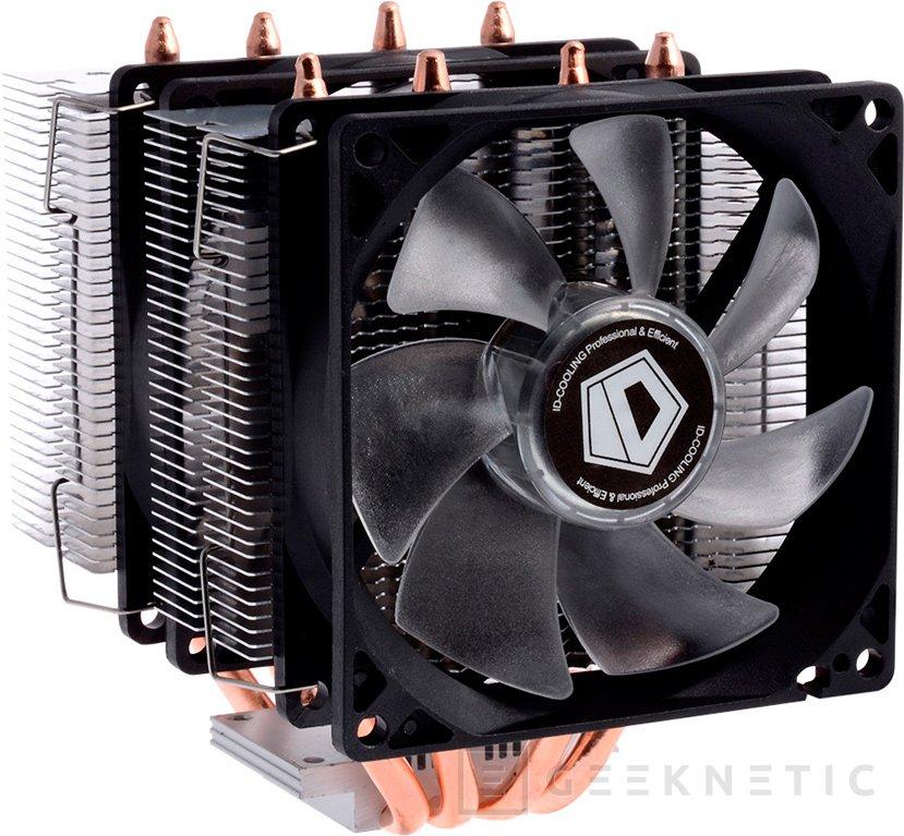 ID-Cooling SE-904, nuevo disipador de doble torre compacto para CPU, Imagen 1