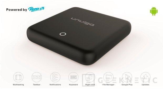 El mini PC Unuiga S905 se decanta por Remix OS y un precio de tan solo 25 Dólares, Imagen 1