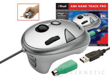 Trust presenta su nuevo ratón de bola manual Ami Hand Track Pro, Imagen 1