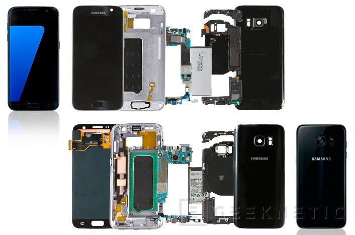 Samsung destripa sus Galaxy S7 y S7 Edge , Imagen 1