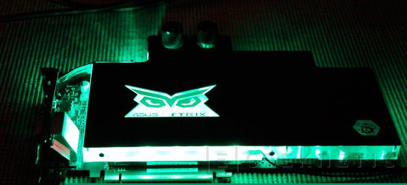 Nueva ASUS GTX 980 TI STRIX Gaming ICE con bloque de refrigeración líquida, Imagen 1