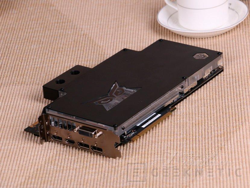 Nueva ASUS GTX 980 TI STRIX Gaming ICE con bloque de refrigeración líquida, Imagen 2