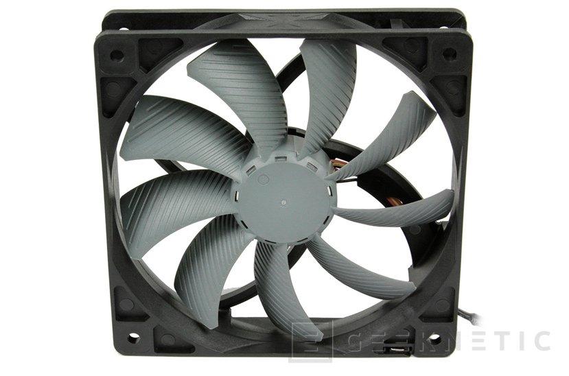 Nuevos ventiladores Scythe GlideStream 120 PWM con limitador de velocidad integrado, Imagen 1