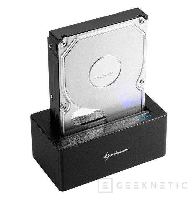 Nuevo dock para discos duros con puerto USB 3.1 Type-C de Sharkoon, Imagen 1