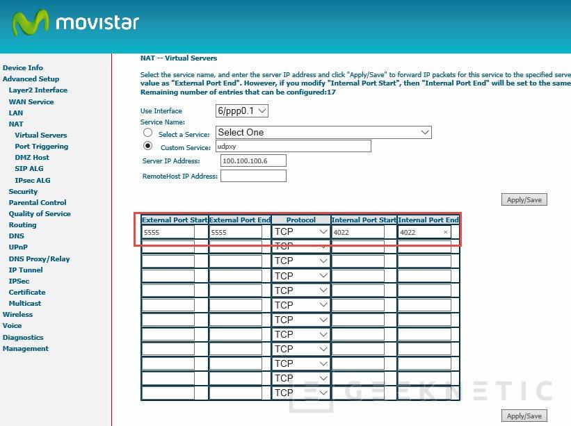 Comparte Movistar TV a través de tu NAS Synology mediante
