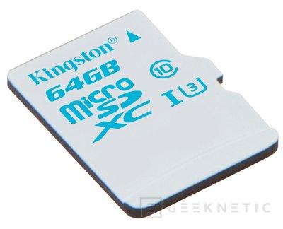 Kingston lanza unas tarjetas microSD blindadas para cámaras de acción, Imagen 1