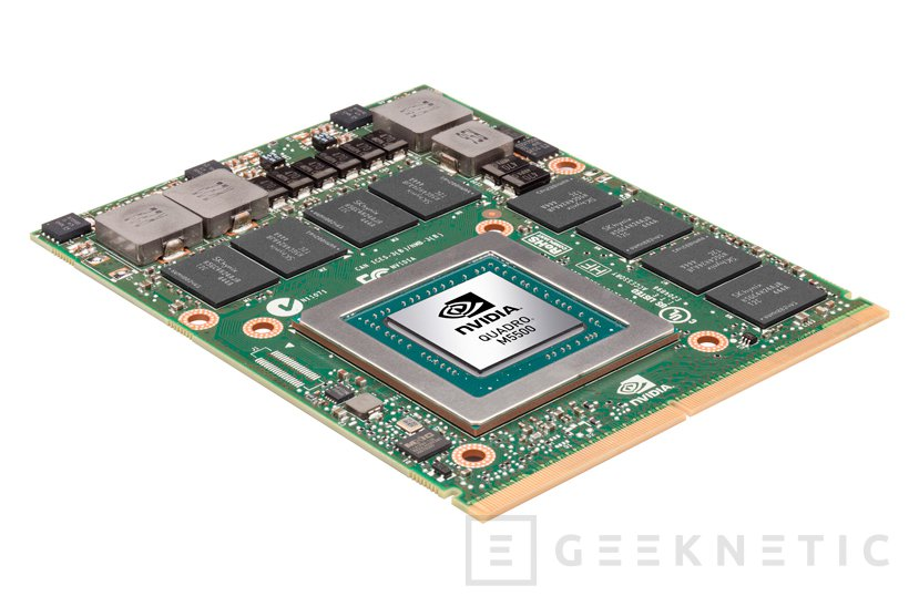 NVIDIA Quadro M5500, GPU para workstations portátiles de alto rendimiento como el MSI WT72, Imagen 1