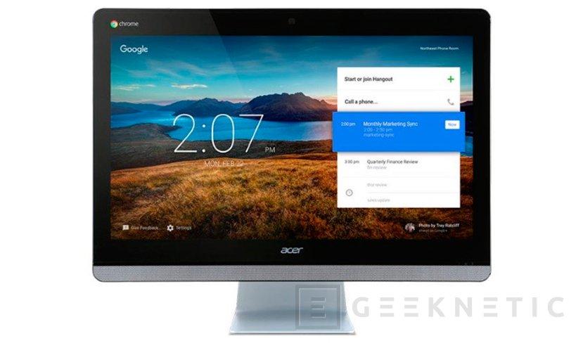 Acer apuesta por Chrome OS en su nuevo PC All in One, Imagen 1