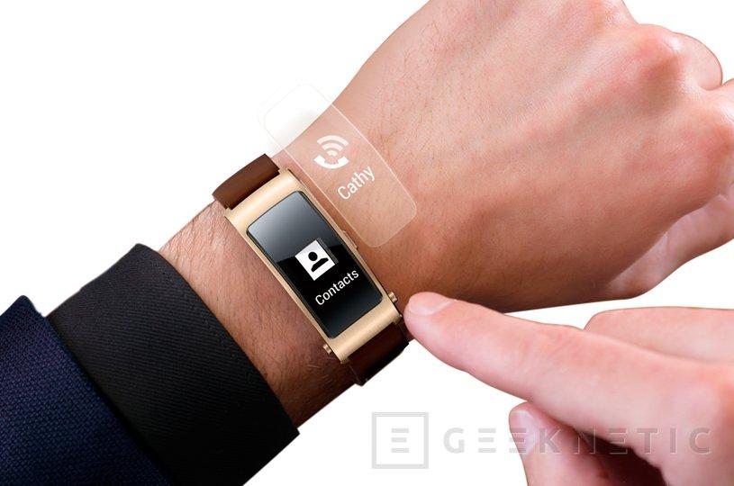 Huawei desvela la TalkBand B3, una pulsera inteligente que se convierte en auricular bluetooth, Imagen 3