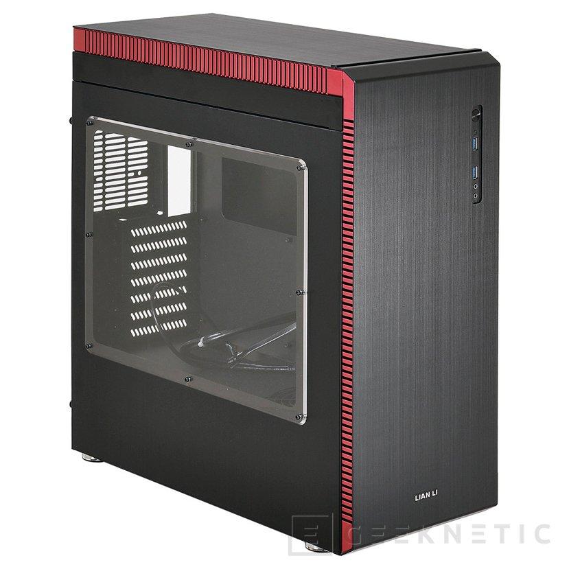Nueva torre Lian Li PC-J60 con compartimento independiente para la fuente y sus cables, Imagen 1