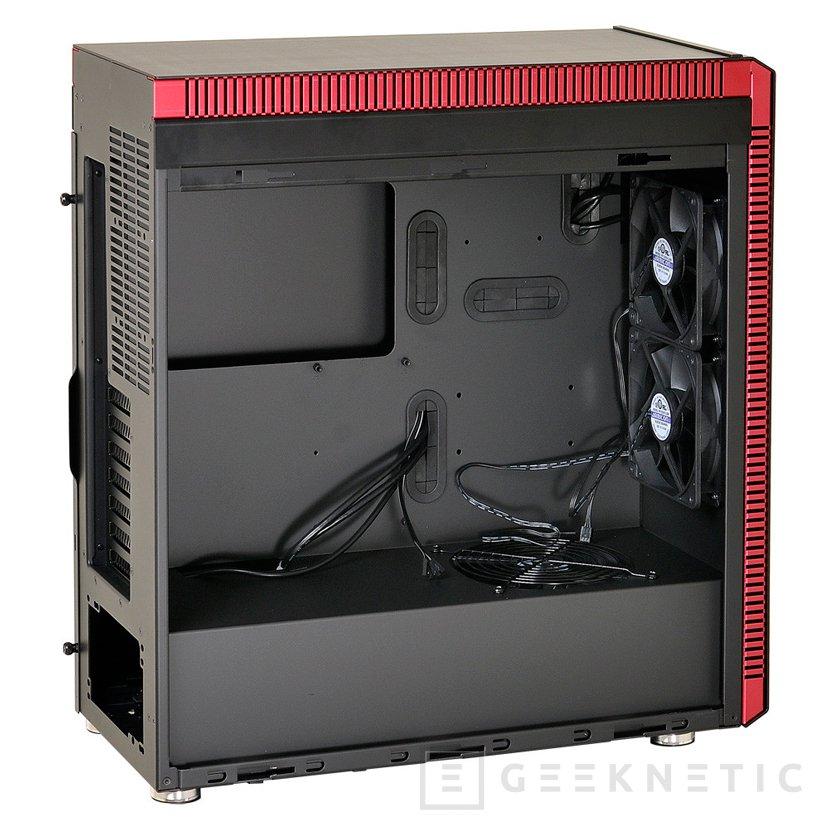 Nueva torre Lian Li PC-J60 con compartimento independiente para la fuente y sus cables, Imagen 2