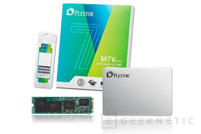 Plextor renueva su gama de SSD económicos con los nuevos M7V, Imagen 1