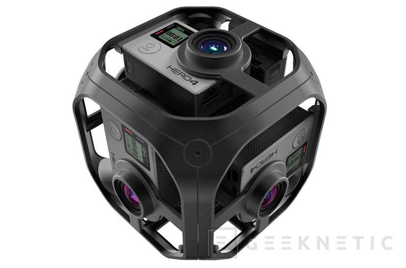 Así será Omni VR, el módulo de grabación 360 grados de GoPro, Imagen 1