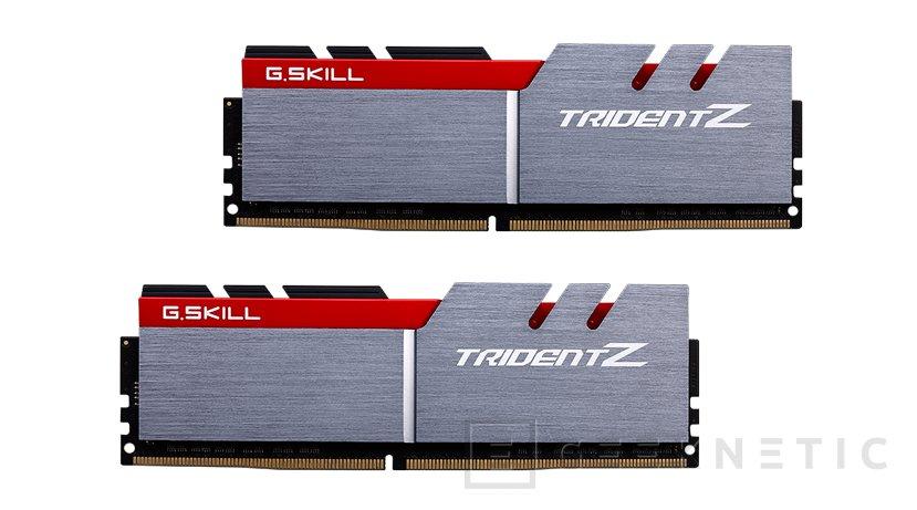 G.SKILL lanza una nuevas memorias DDR4-3600 MHz Trident Z con latencias CL15, Imagen 1