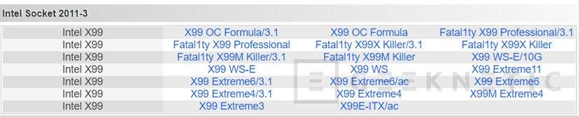 Las placas Base ASRock X99 y asoportan los procesadores Broadwell-E con la última actualización de BIOS, Imagen 2
