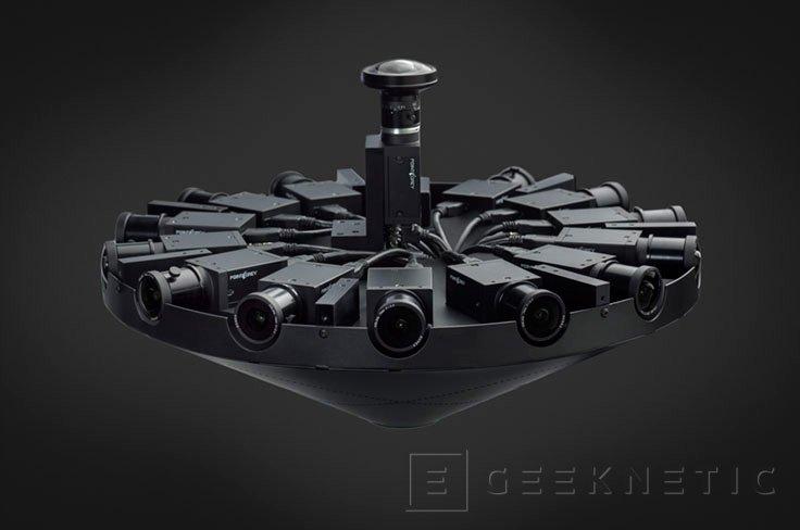 Facebook Surround 360, una cámara para realidad virtual 3D con 17 sensores y Open Source, Imagen 1