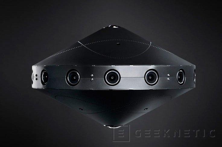 Facebook Surround 360, una cámara para realidad virtual 3D con 17 sensores y Open Source, Imagen 2