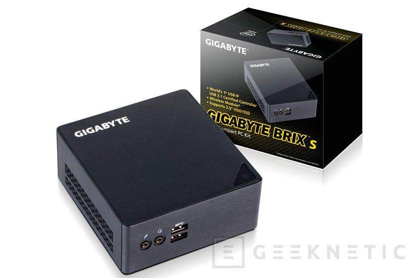 Gigabyte lanza 4 nuevos mini PC BRIX con Thunderbolt 3, Imagen 2