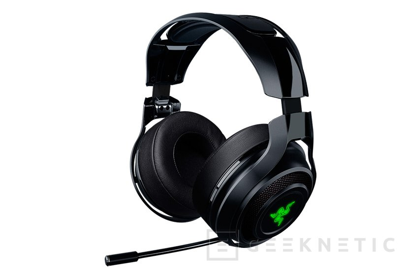 Razer Manowar, unos auriculares gaming inalámbricos de baja latencia, Imagen 1