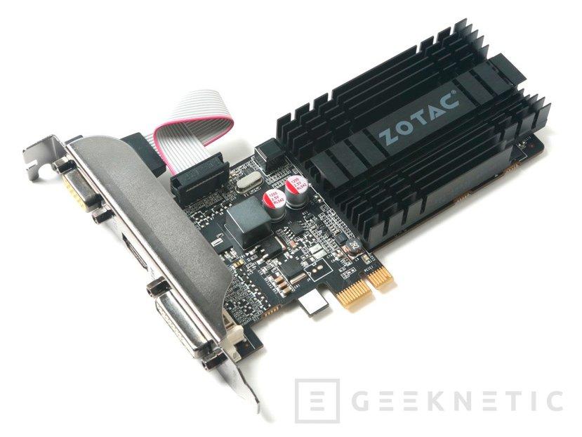 ZOTAC lanza una GeForce 710 con conector PCIe 1x, Imagen 1