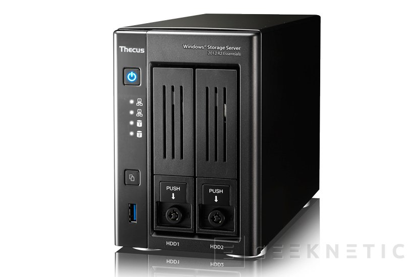 Thecus lanza su NAS W2810PRO con Windows Storage Server, Imagen 1