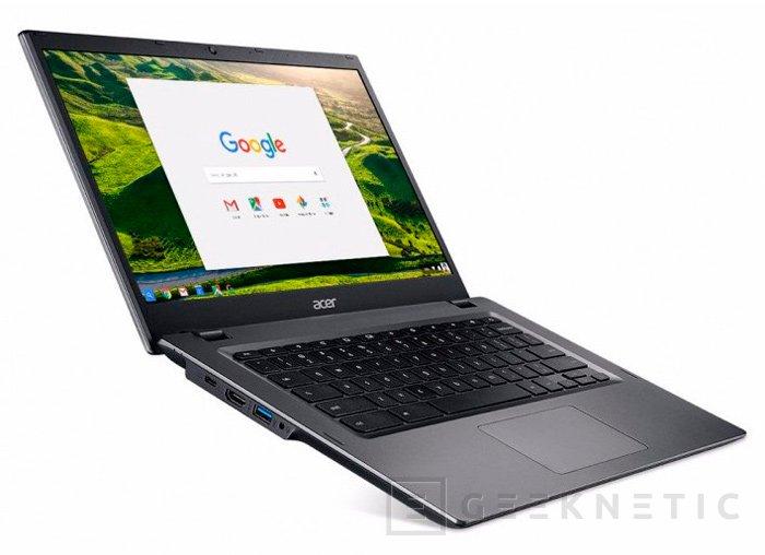 Acer integra procesadores Intel Core Skylake en su nuevo Chromebook 14 for Work, Imagen 1