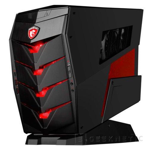 MSI anuncia Aegis, un nuevo barebone Gaming compacto con espacio para una GTX 980 Ti en su interior, Imagen 1