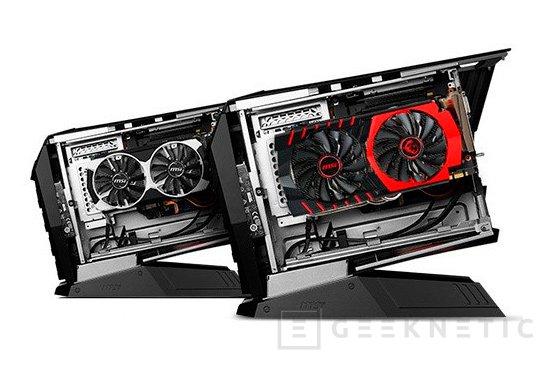 MSI anuncia Aegis, un nuevo barebone Gaming compacto con espacio para una GTX 980 Ti en su interior, Imagen 2