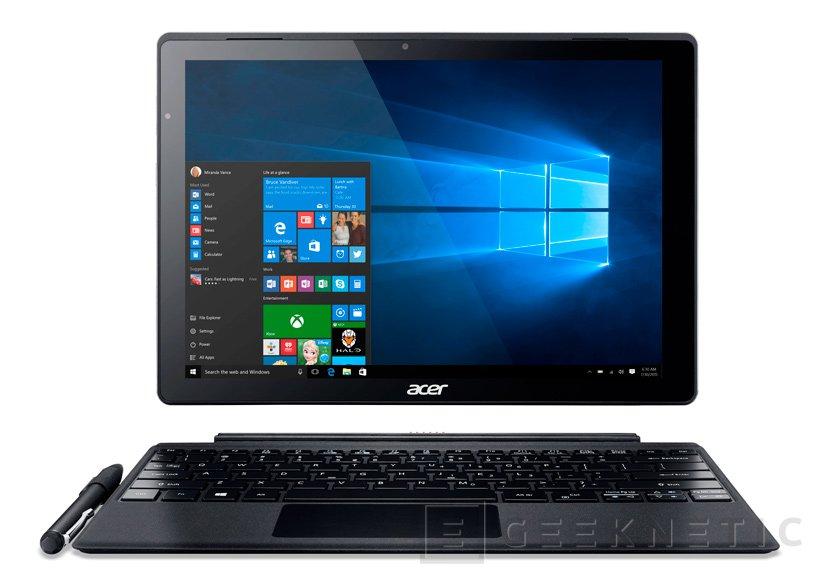 Acer Switch Alpha 12, un convertible con Intel Skylake completamente pasivo, Imagen 1