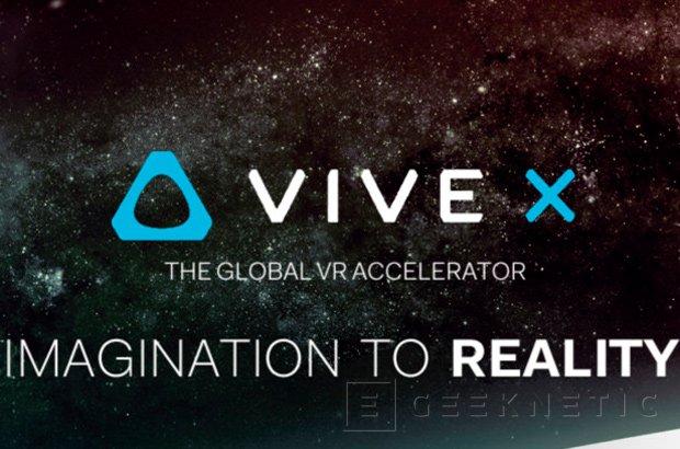 HTC crea la compañía Vive X y destina 100 millones para invertir en realidad virtual, Imagen 1