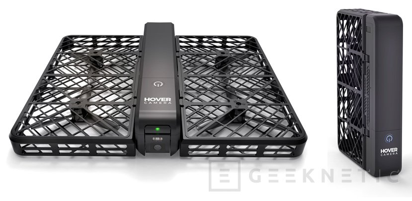 Hover Camera, un dron plegable para fotografía y vídeo autónomo, Imagen 1