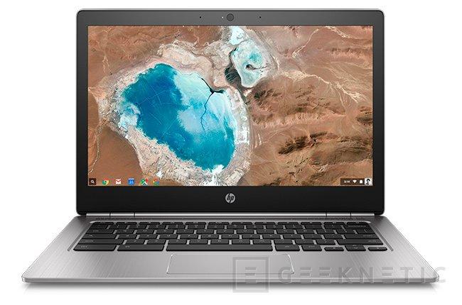 HP da un toque premium a su Chromebook 13 con CPUs Skylake, 16 GB de RAM y más de 1.000 Dólares, Imagen 1