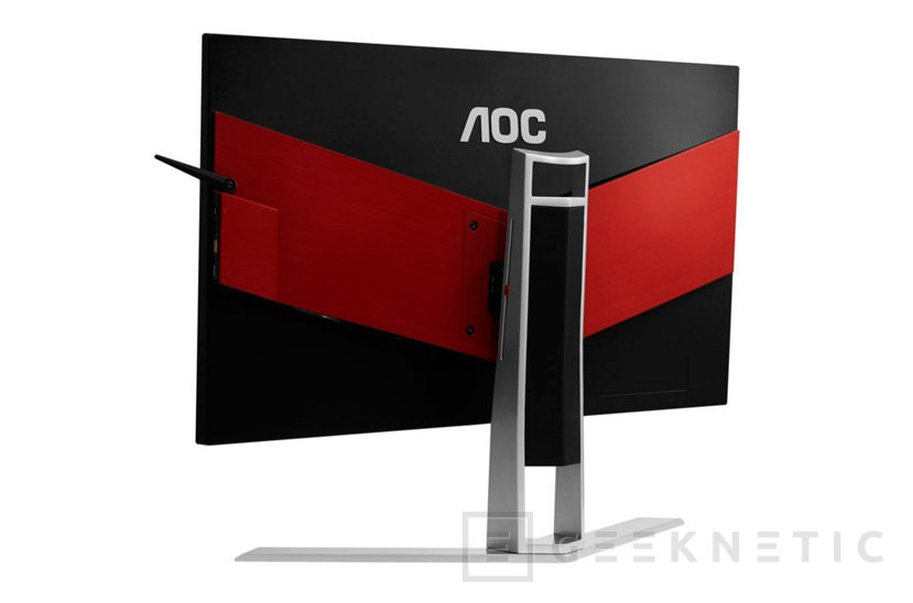 AGON AG271QX, nuevo monitor gaming QHD 144Hz de AOC, Imagen 2