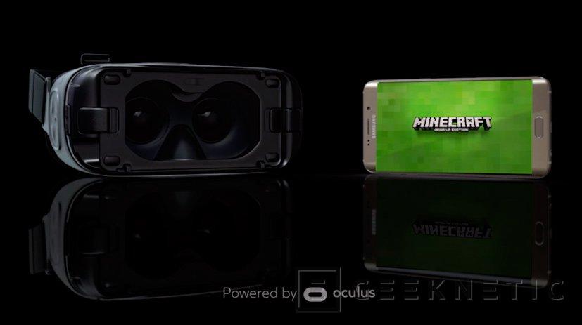 Minecraft Gear VR Edition, el popular juego se pasa a la realidad virtual, Imagen 1