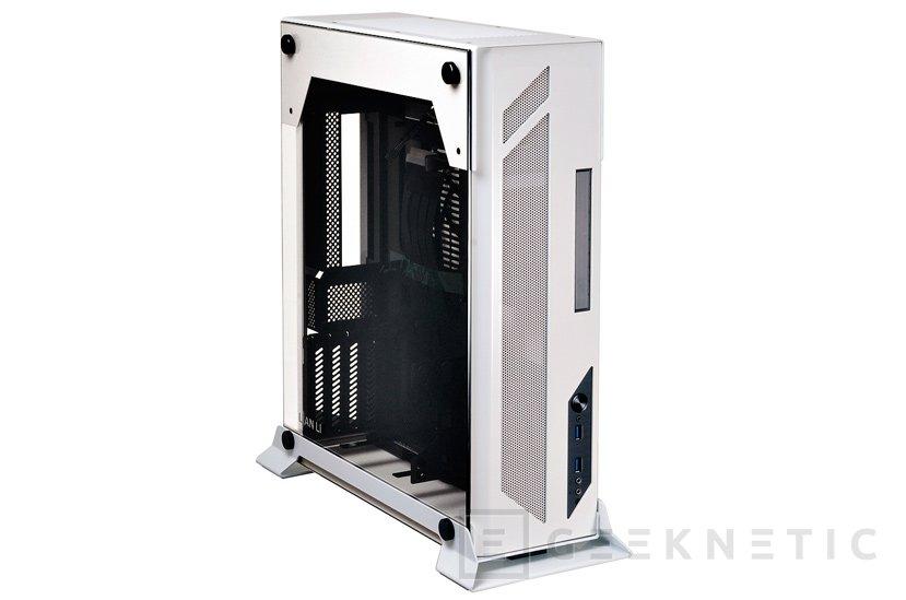 Lian Li PC-O5SW, la pequeña torre mini-ITX se pasa al blanco y negro, Imagen 1