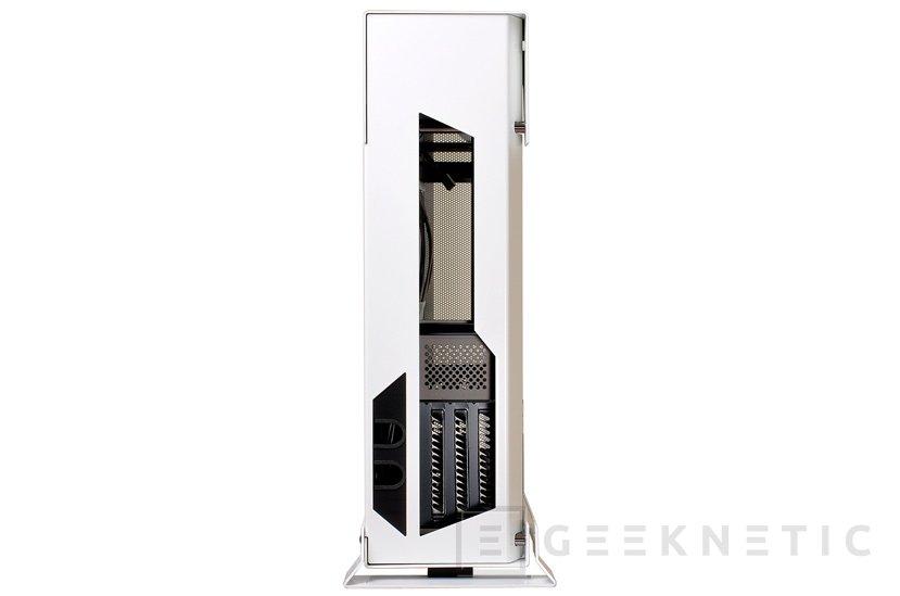Lian Li PC-O5SW, la pequeña torre mini-ITX se pasa al blanco y negro, Imagen 2