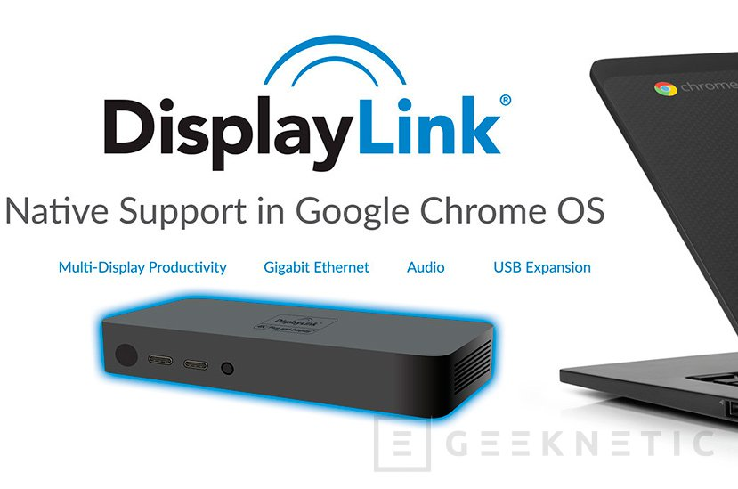 Los Docks de DisplayLink ya funcionan con el sistema operativo Chrome Os, Imagen 1
