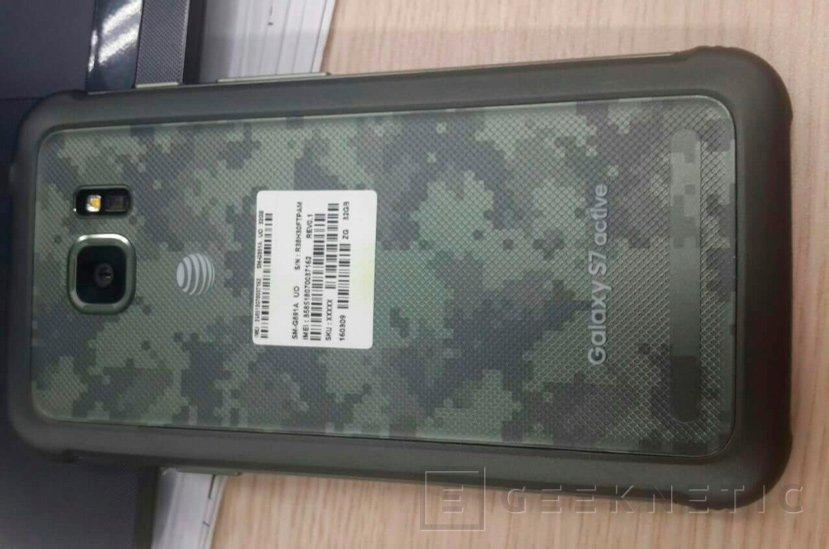 Se deja ver el resistente Samsung Galaxy S7 Active, Imagen 1