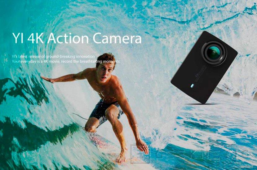 La cámara de acción Xiaomi Yi se pone al día con una versión 4K, Imagen 1