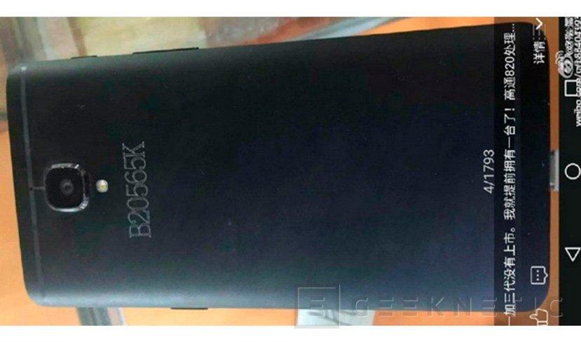 Filtrado el diseño del OnePlus 3, Imagen 1