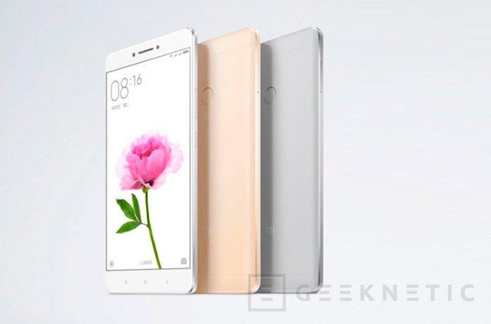 Xiaomi apuesta por lo grande con su nuevo Mi Max de 6,4 pulgadas, Imagen 2