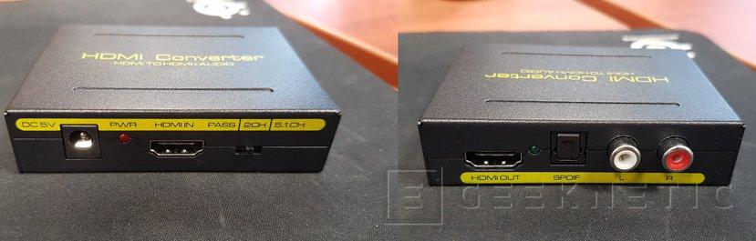Conectar el Chromecast a un proyector y no perder el audio, Imagen 2