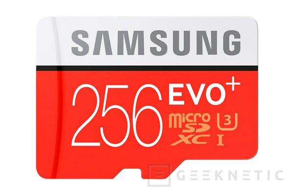 Samsung EVO+, tarjeta microSD de 256 GB con memorias V-NAND y 95 MB/s, Imagen 1