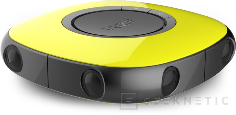 Vuze, una cámara 3D de 360 grados por 899 Euros, Imagen 1